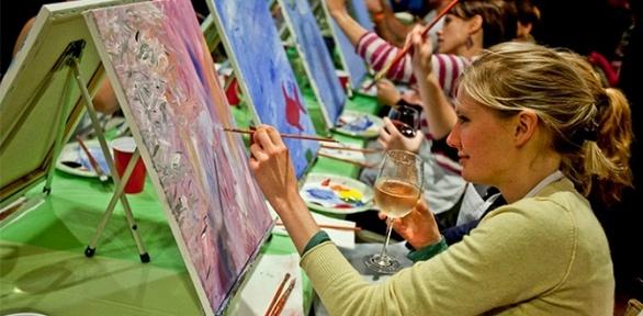 Посещение арт-вечеринки отпроекта Art D'Vino
