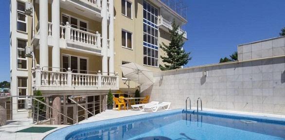 Отдых вцентре Сочи для двоих виюне, июле или августе вотеле Elle Hotel