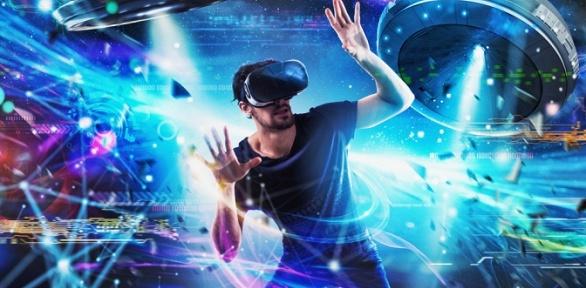 60минут игры вшлеме Oculus RiftS, аренда зала вклубе VR-Zone