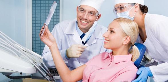 Гигиена полости рта иотбеливание зубов вклинике «Дент-Перфект»