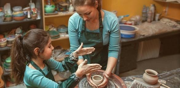 Посещение мастер-класса по гончарному искусству от клуба Ceramista