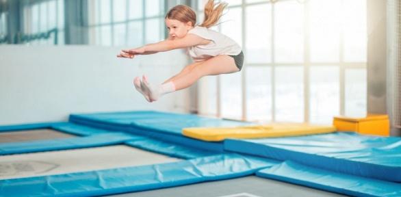 До2часов свободных прыжков вбатутном центре «Адреналин»