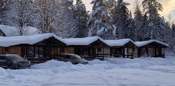 Загородный отдых вдомике вклубе «Вуокса-Хутор»