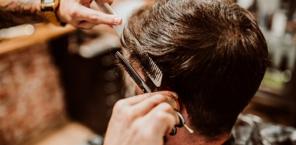 Стрижка, моделирование бороды отбарбершопа The XVIII Barbers