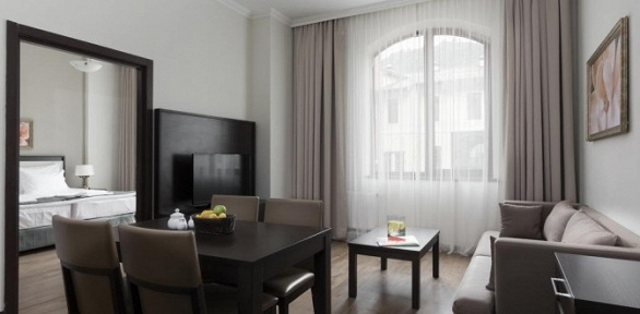 Проживание вапарт-отеле оттурагентства «Курорты Юга»