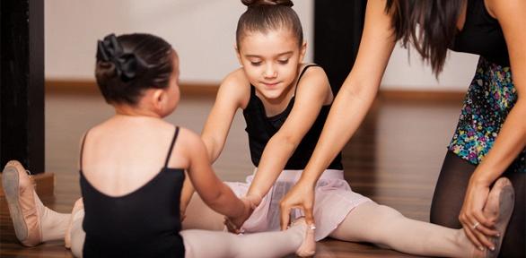 Занятия танцами для детей вцентре Zest