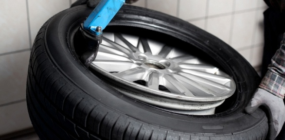 Шиномонтаж четырех колес откомпании FullService