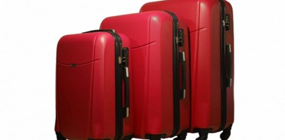 Дорожные чемоданы изударопрочного пластика