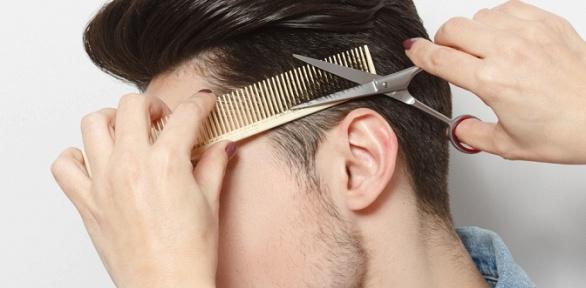Мужская, детская стрижка, моделирование бороды вбарбершопе Brutal House