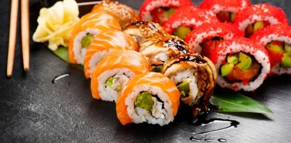 Всё меню отслужбы доставки «Шай суши» заполцены