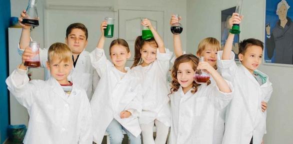 Посещение занятия или мастер-класса отклуба юных химиков «Фарадей»