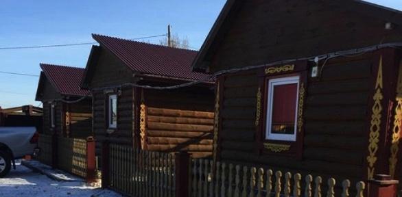 Отдых напобережье озера Байкал вкемпинге «Русское подворье»