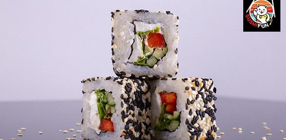 Сеты роллов отсети служб доставок Sushi Fun