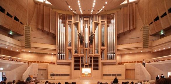 Билет наконцерт органной музыки вхраме Матери Божией Лурдской