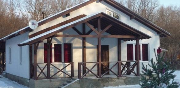 Отдых наберегу Волги вкоттедже набазе «Аква-Хаус»