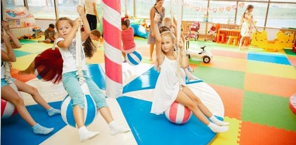 Посещение детского игрового комплекса «KidsЛандия»