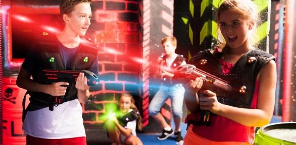 Игра влазертаг для компании до20человек отлазертаг-клуба «Сова»