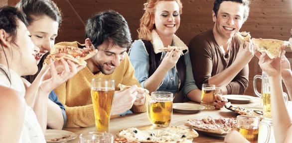 Пивная вечеринка для 2или 4человек влаундж-кафе Happy