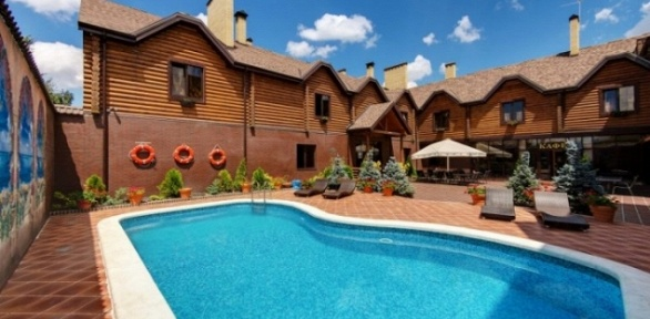 Посещение открытого бассейна вкомплексе отдыха «Андрюковские бани»