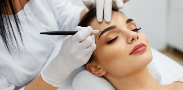 Перманентный макияж встудии красоты «Красотка»