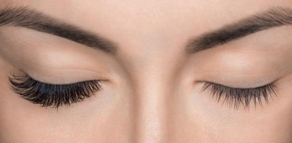 Наращивание ресниц, оформление бровей, макияж или прическа всалоне «Образ»
