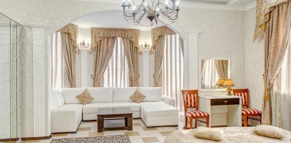 Отдых для двоих вномере категории полулюкс или люкс вотеле Frant Hotel