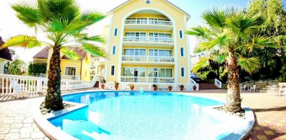 Отдых сзавтраком ипосещением открытого бассейна вгостинице «Медовая»