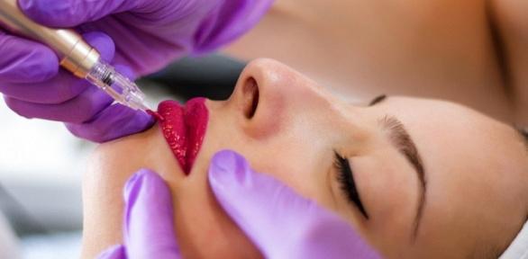Перманентный макияж губ, бровей или век всалоне Веры Марковой