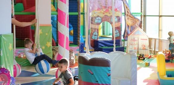 2часа посещения детского игрового комплекса «KidsЛандия»