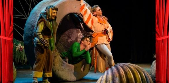 Билет наспектакль для детей навыбор отпроекта «Театр Луны» заполцены