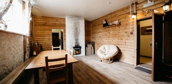 Посещение традиционной русской бани надровах вбанном комплексе «Добрыня»