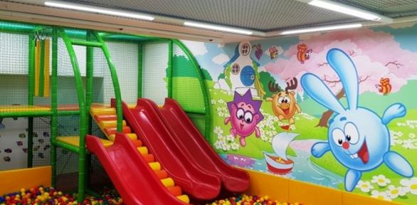 Парк развлечений вдетском центре «Город друзей»