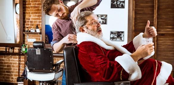 Мужская стрижка, коррекция бороды вбарбершопе «Тени»