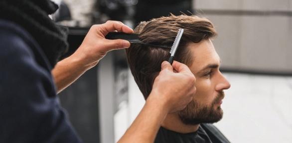 Мужская стрижка, оформление бороды в«Парикмахерской наулице Правды»