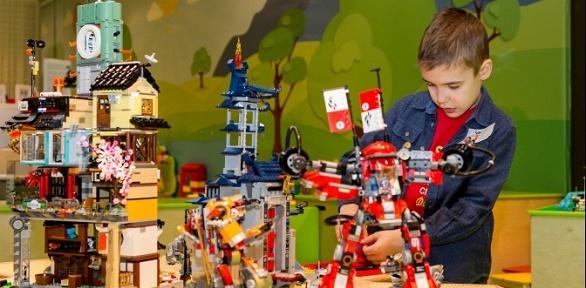 Посещение детского игрового центра конструирования Legogo