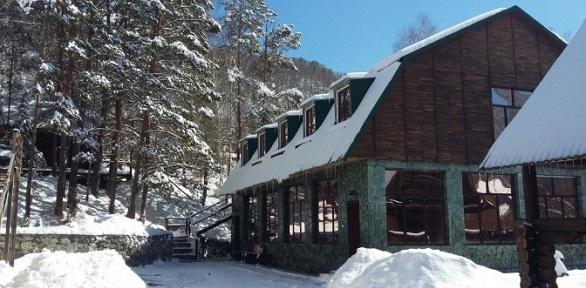 Отдых вГорном Алтае набазе отдыха Green House