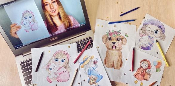 Уроки рисования отпроекта Art.online.yara