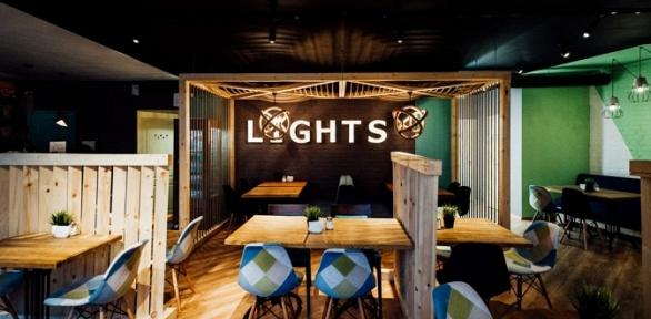 Всё меню и напитки в ресторане Lights Cafe