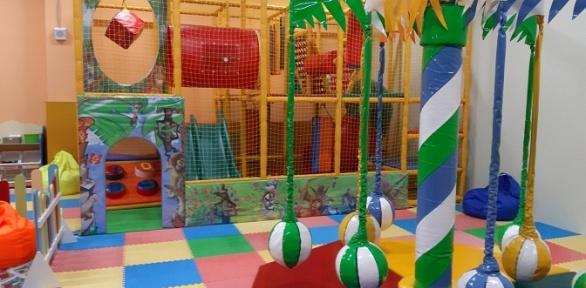 Посещенин детского игрового комплекса «Мадагаскария»