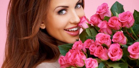 Букет изэквадорских или кенийских роз