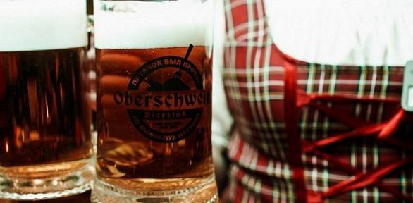 Пивной сет для одного, двоих или четверых впивном ресторане Oberschwein
