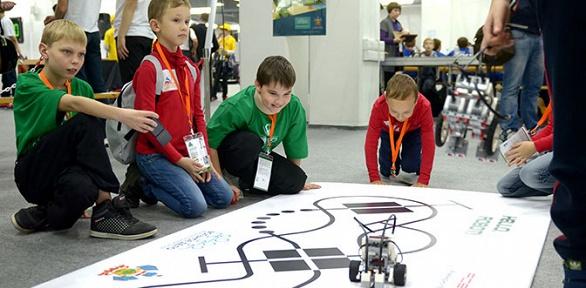 Билет навыставку роботов отвыставочной компании «Робополис» заполцены