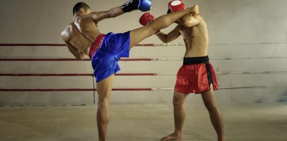 Занятия тайским боксом вшколе «Красный Муай Тай»