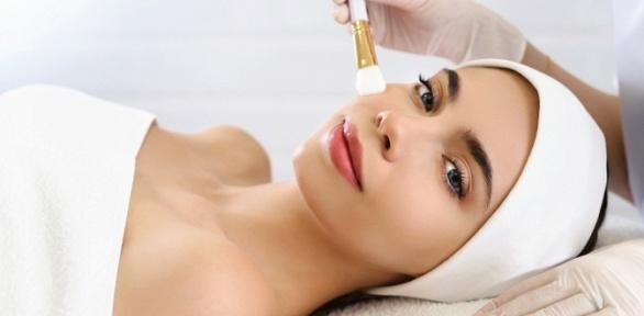 Чистка лица, пилинг вкосметологическом кабинете «Секрет красоты»