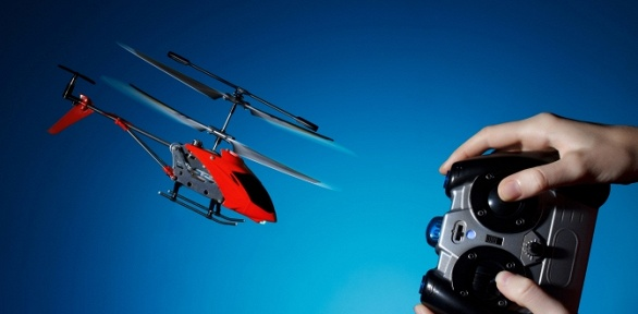 Радиоуправляемая модель вертолета
