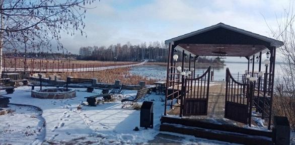 Отдых наберегу озера набазе отдыха «Чебаркуль»