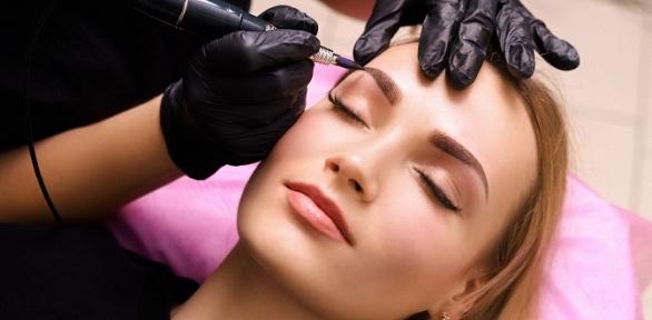 Перманентный макияж вимидж-студии «Аквамарин»