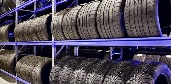Хранение шин или колес легкового авто откомпании Fair