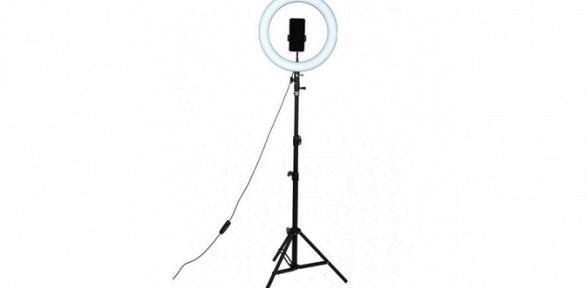 Кольцевая светодиодная лампа для профессиональной съемки
