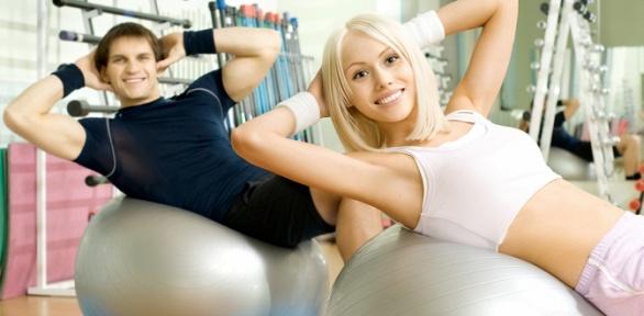 Занятия фитнесом вклубе DanceMyLife